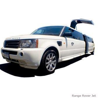 white, Limousine, Suv, Rover, Range, Astretchout limo