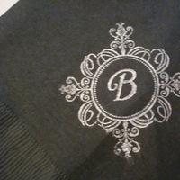 Reception, Flowers & Decor, black, silver