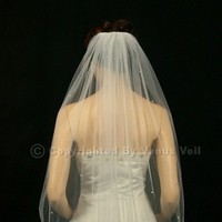 Veils, Fashion, ivory, Veil