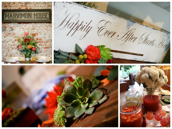Reception, Flowers & Decor, orange, red, green, brown, Fall, Flowers, Fall Wedding Flowers & Decor, Colors, Events, Weddings, V3 weddings events, V3
