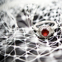 Jewelry, red, Laura laing photography