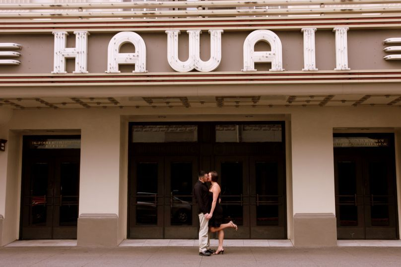 Destinations, Hawaii, Engagement, Waikiki, Honolulu, Trueglimpse photography