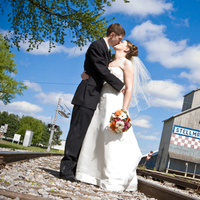Wedding Dresses, Fashion, dress, Summer, Bride, Groom, Country, Railroad, Tracks, Pheifer photography llc, Summer Wedding Dresses