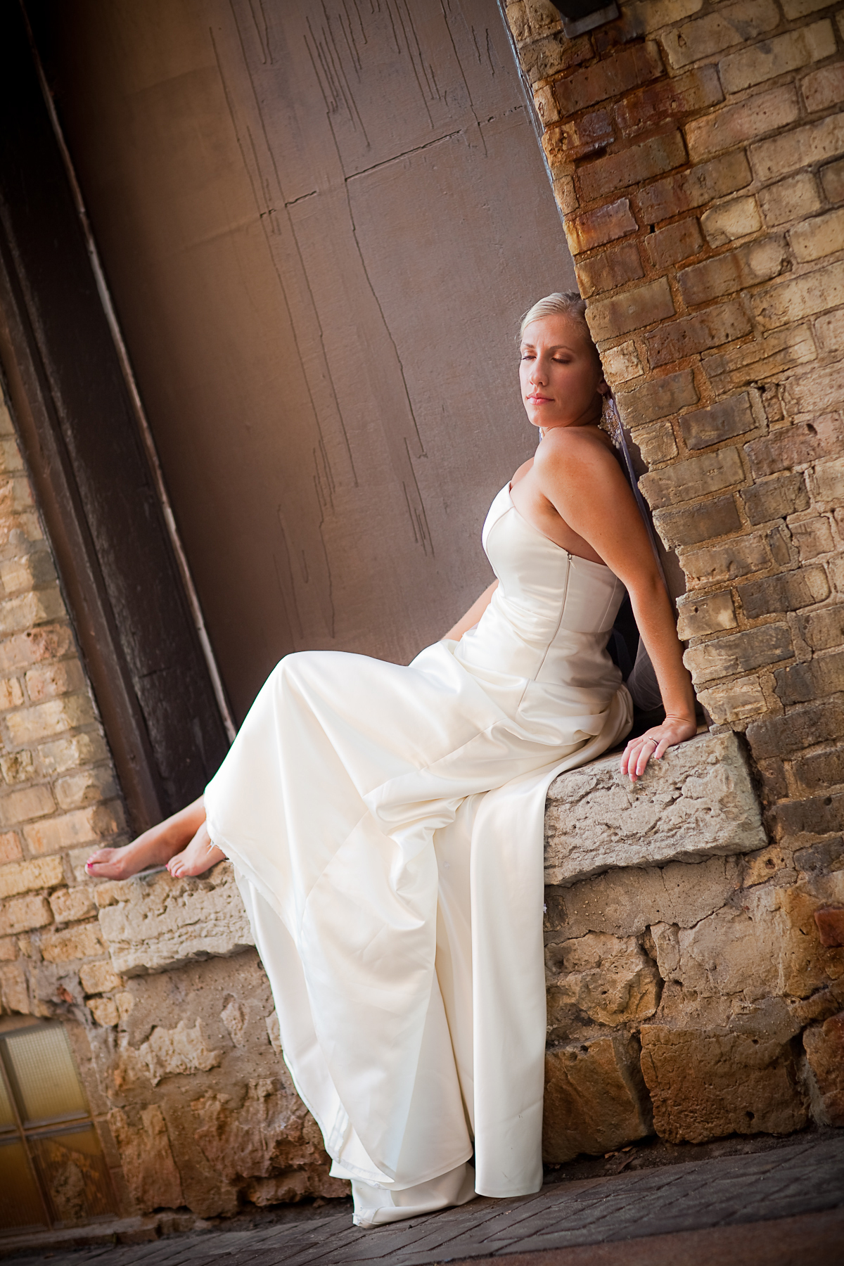 Wedding Dresses, Fashion, dress, Bride, The, Trash, Urban, Alley, Pheifer photography llc