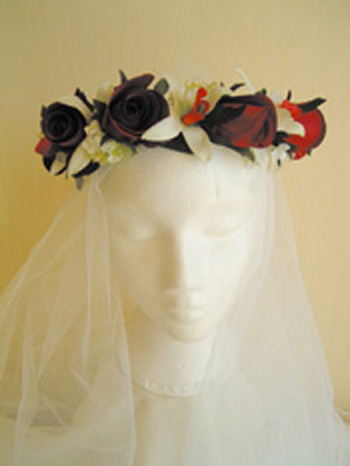 Beauty, Flowers & Decor, red, Flowers, Hair, Rainbow wedding flowers