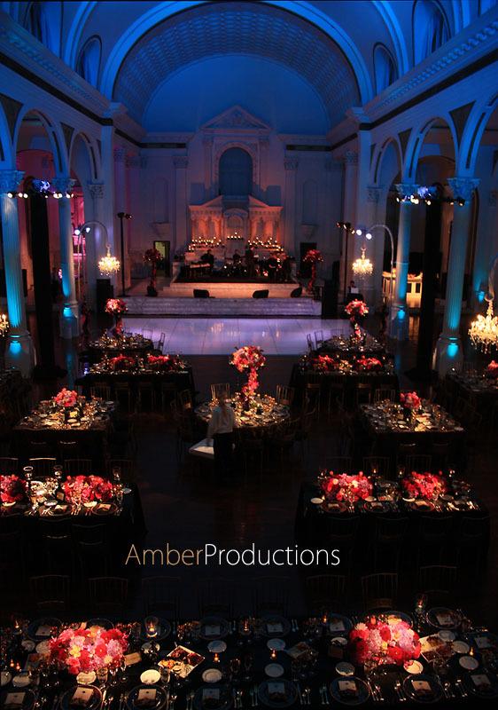 Draping, Audio, Spot, Pinspot, Ceiling, Pin, Spots, Led, Pinspots, Av, Washes, Amber event production lighting, Vibiana