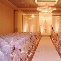 Ceremony, Reception, Flowers & Decor, white, pink, purple, Ceremony Flowers, Flowers, Belvedere events banquets