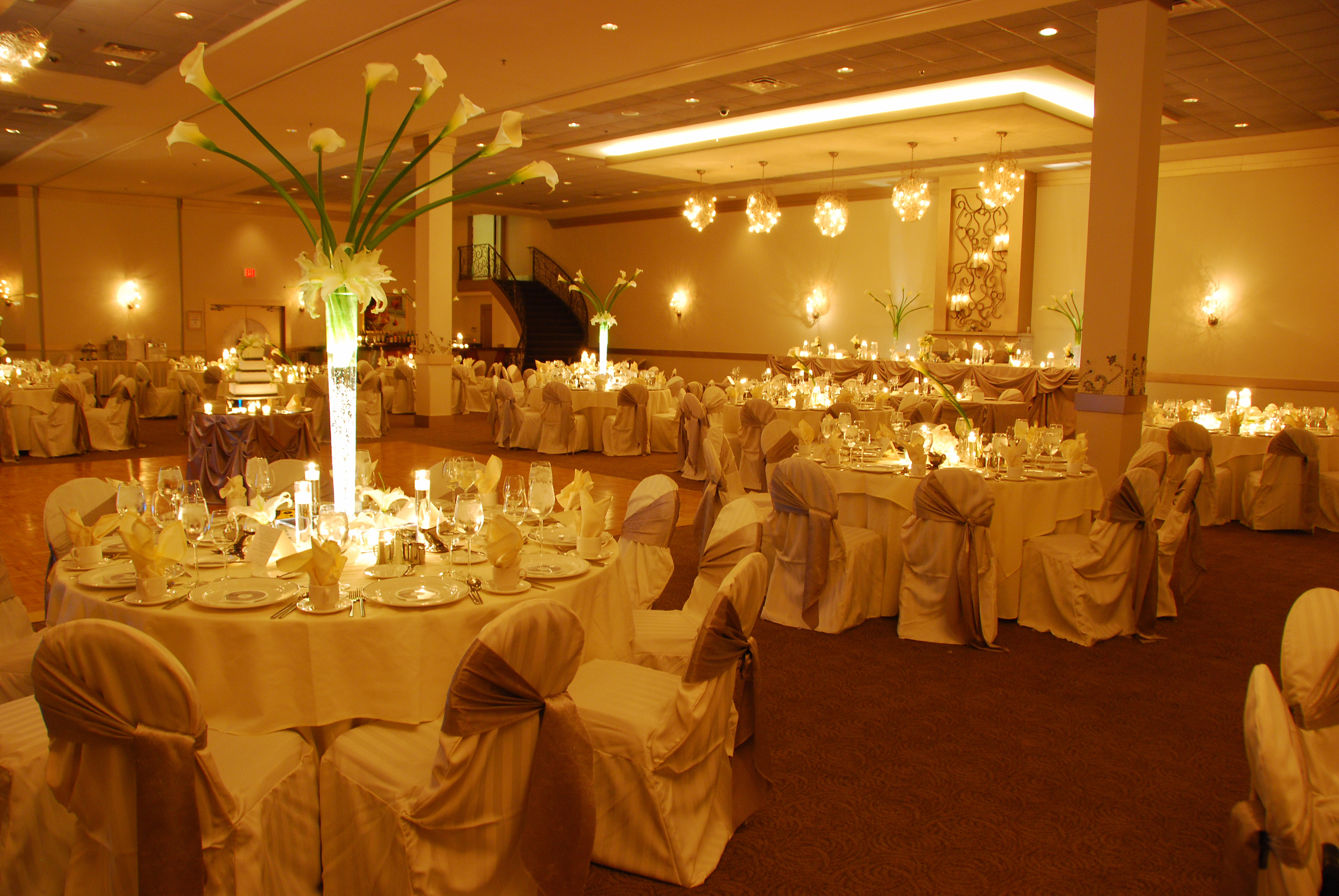 Reception, Flowers & Decor, Cakes, white, green, silver, cake, Flowers, Wedding, 3, 4, Suite, Belvedere banquets