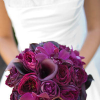 Flowers & Decor, purple, Bride Bouquets, Flowers, Bouquet, Bridal, Wine country flowers, Purpleplum