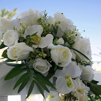 Flowers & Decor, white, Flowers