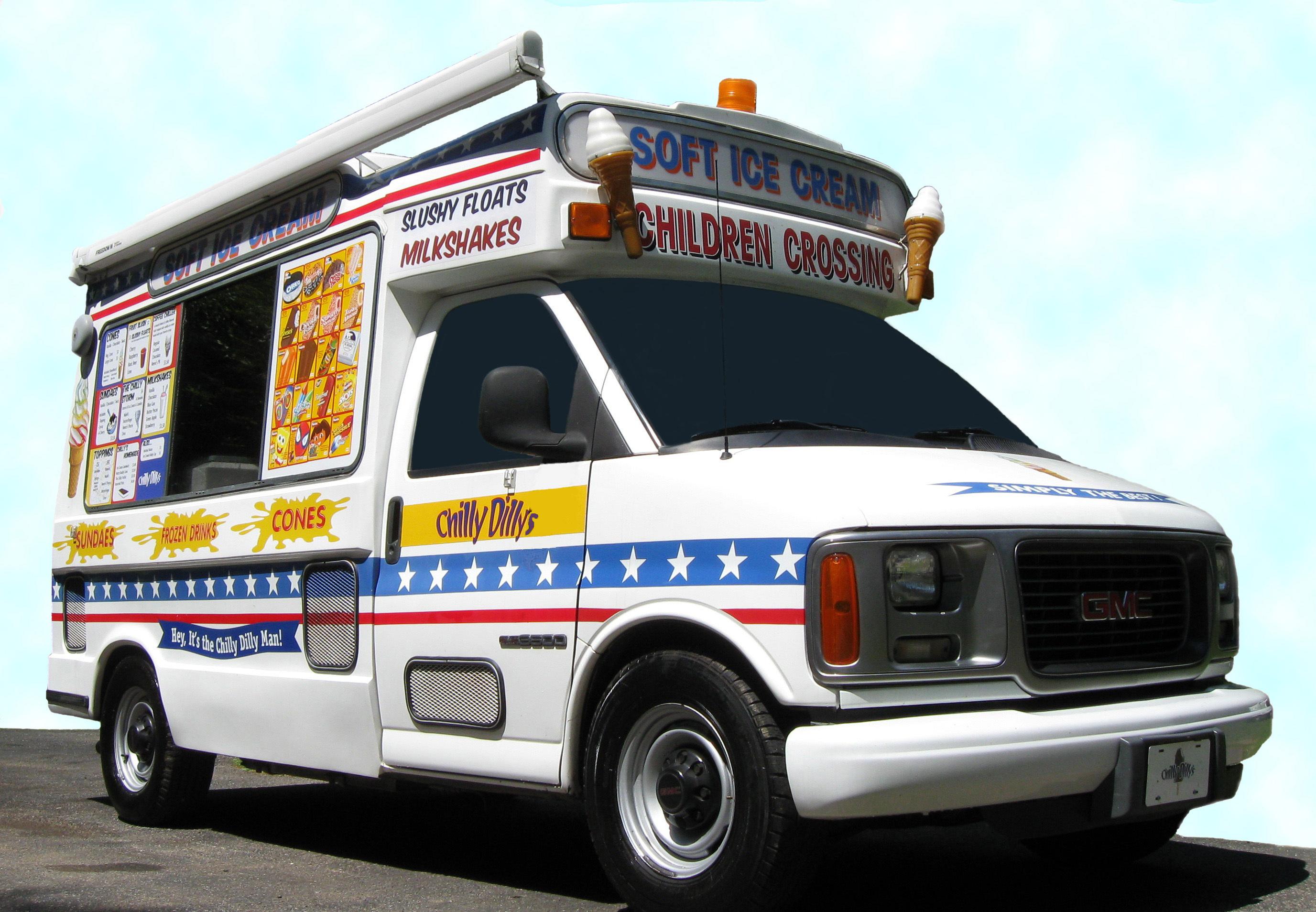 Dessert, Ice, Cream, Truck