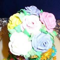 Cakes, white, orange, pink, red, blue, green, cake, Spring, Colors, Always forever custom cakes