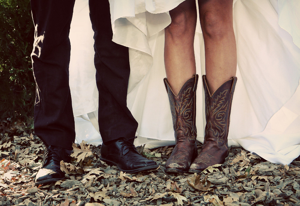 Wedding Dresses, Shoes, Fashion, dress, Fun, Boots, Cowgirl, Julie wilson photography, Flirty
