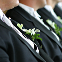 Ceremony, Flowers & Decor, black, Ceremony Flowers, Boutonnieres, Flowers, Groom, Boutonniere, Mark zelinski photography