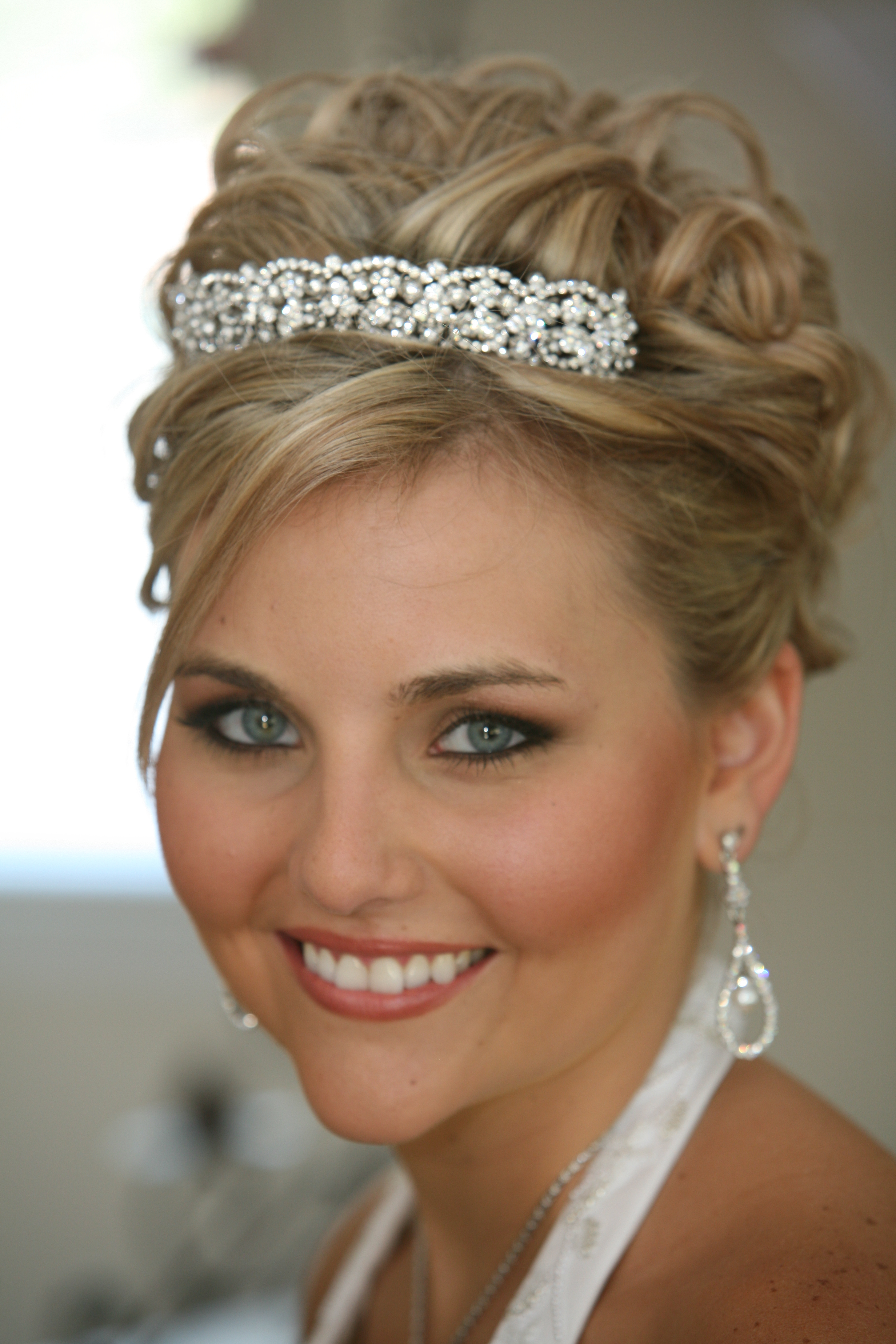 Beauty, pink, Makeup, Updo, Hair, And, Make-up, Bridesmaid beautiful