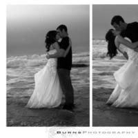 white, black, Burns photography