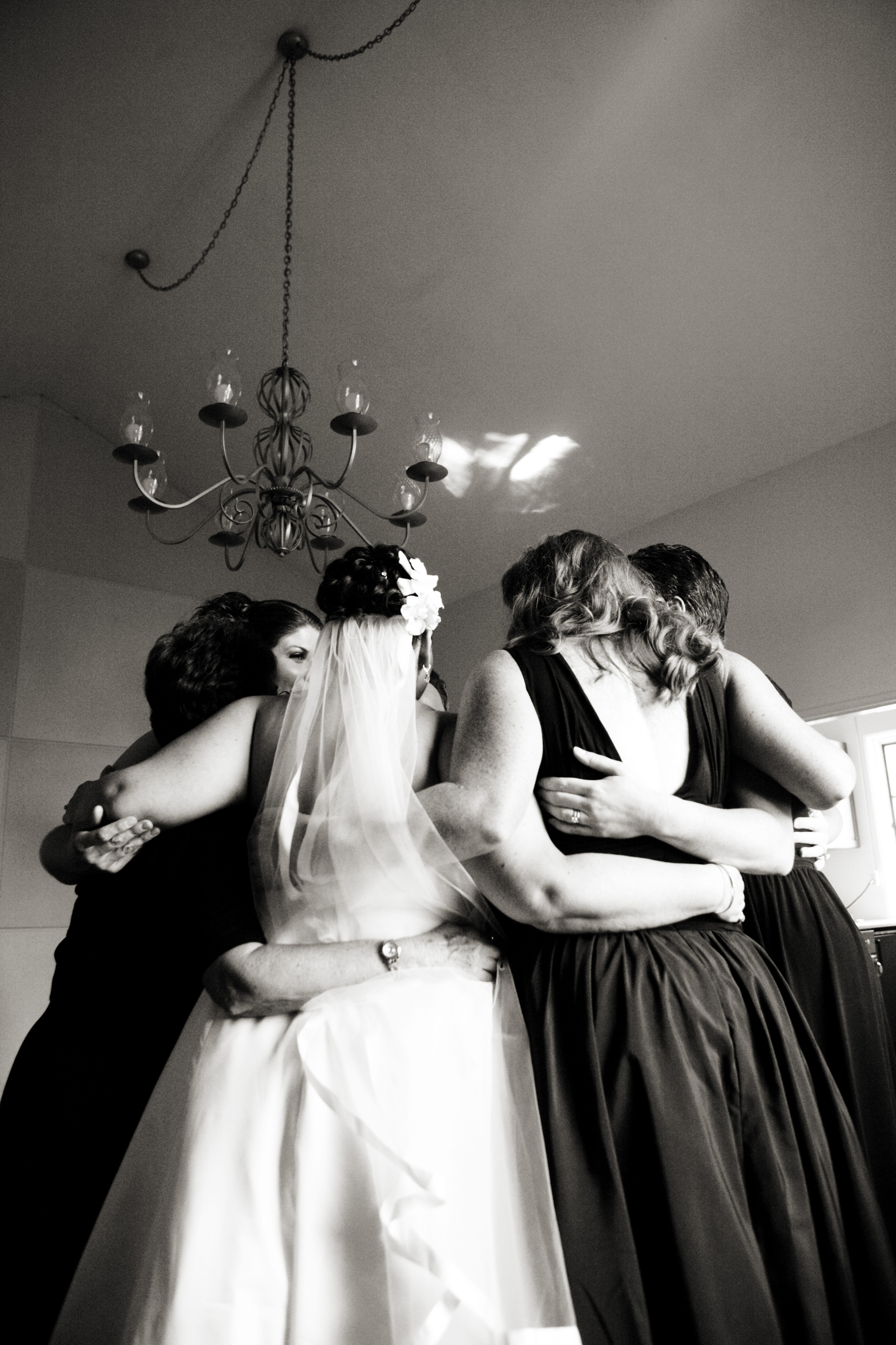 Bridesmaids, Bridesmaids Dresses, Fashion, Bride, Wedding, Group, Hands, Hug, Prayer, Arms, Damion hamilton, Huddle