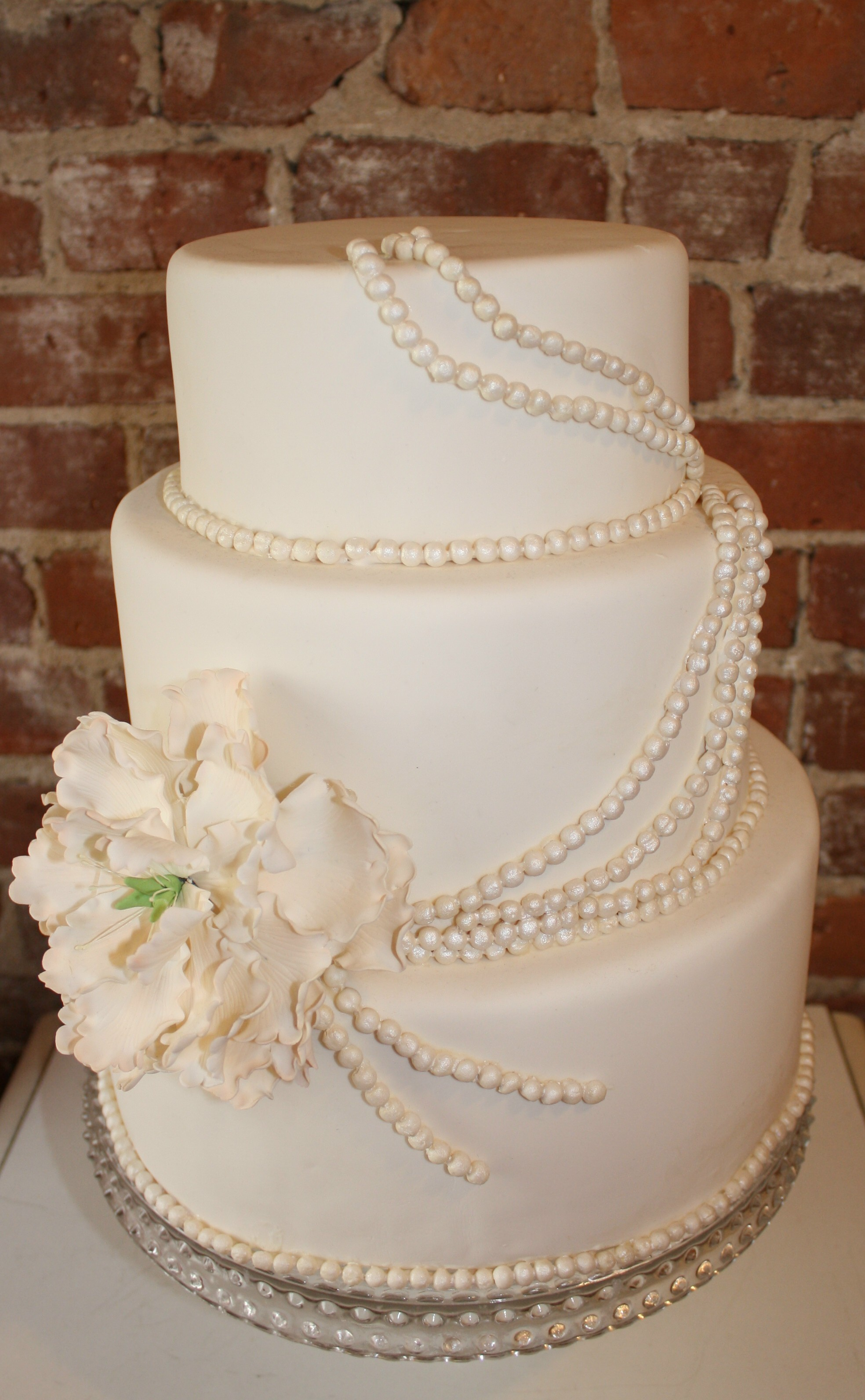 Cakes, white, cake, Classic Wedding Cakes, Wedding, York, New