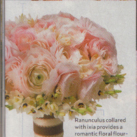 Flowers & Decor, Bride Bouquets, Flowers, Bouquet, Ranunculus, Blush, Ixia