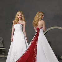 Wedding Dresses, Fashion, white, pink, dress
