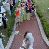 Reception, Flowers & Decor, pink, Bride Bouquets, Flowers, Bouquet, The, Tossing, Photographs by christine west