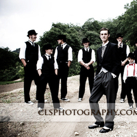 Groomsmen, Groom, Christine lee smith photography