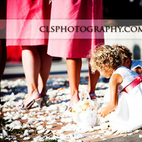 Christine lee smith photography, Flower girls during ceremony