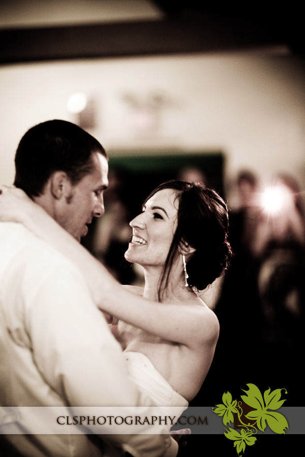 Bride and groom dancing, Christine lee smith photography