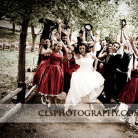 Bridal party, Christine lee smith photography