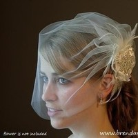 Beauty, Veils, Fashion, white, silver, Veil, Hair