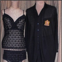 Honeymoon, Destinations, white, red, blue, brown, black, gold, Honeymoons, Bride, Groom, Gown, And, Tall, Full, Robe, Size, Lingerie, Peignoir, Plus, Dressing, Night, Smoking, Big, Jacket, King, Wear, Vest, Slippers, Boxers, Pajamas, Ascot, Leisure, Figure, Albert