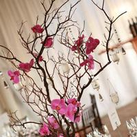 Reception, Flowers & Decor, pink, Centerpieces, Centerpiece, Wine country flowers, Manzanita