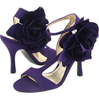 Flowers & Decor, Bridesmaids, Bridesmaids Dresses, Shoes, Fashion, purple, Flower, Bridesmaid, Sandal, Nina