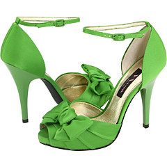 Bridesmaids, Bridesmaids Dresses, Shoes, Fashion, green, Bow, Platform