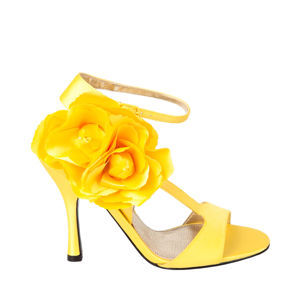 Flowers & Decor, Bridesmaids, Bridesmaids Dresses, Shoes, Fashion, yellow, Flower, Sandal