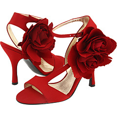 Flowers & Decor, Bridesmaids, Bridesmaids Dresses, Shoes, Fashion, red, Flower, Bridesmaid, Sandal, Zappos, Nina