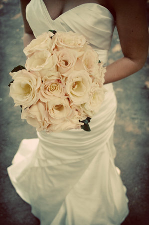 Flowers & Decor, Wedding Dresses, Fashion, white, pink, dress, Flowers, Flower Wedding Dresses
