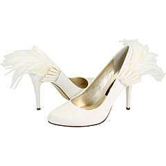 Beauty, Shoes, Fashion, white, Feathers, Bridal, Pump, Zappos, Feather, Nina, Feather Wedding Dresses