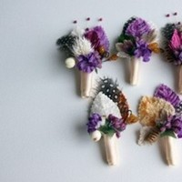 Flowers & Decor, Boutonnieres, Flowers, Boutonniere