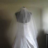 Wedding Dresses, Veils, Fashion, ivory, dress, Veil