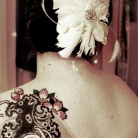 Bride, Tattoo, Cari wible photography