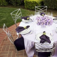 Reception, Flowers & Decor, white, purple, green, silver, Centerpieces, Garden, Flowers, Garden Wedding Flowers & Decor, Centerpiece, Table, Shower, Setting