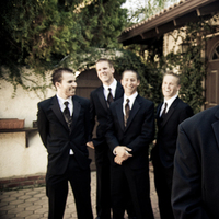 Ceremony, Flowers & Decor, Wedding Dresses, Fashion, brown, black, dress, Groomsmen, Groom, Anibaldi studio wedding photography