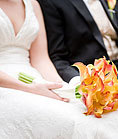 Flowers & Decor, orange, Bride Bouquets, Flowers, Bouquet, Callas, Flame