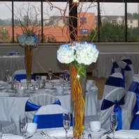 Reception, Flowers & Decor, blue, Centerpieces, Centerpiece, Kingdom creator events