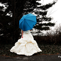 Wedding Dresses, Fashion, white, blue, dress, M photography