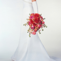 Flowers & Decor, orange, pink, Bride Bouquets, Bride, Flowers, Bouquet, Creative force floral