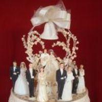 Cakes, cake, Vintage, Vintage Wedding Cakes, Toppers, The vintage bride