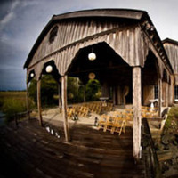 Ceremony, Flowers & Decor, white, green, brown, Fall, Outdoor, Wedding, Lanterns, dock, Cotton, Katherine miller events