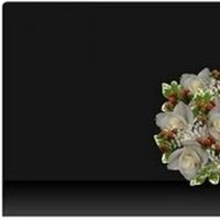 Flowers & Decor, white, red, green, Bride Bouquets, Flowers, Bouquet, Designed by the bride
